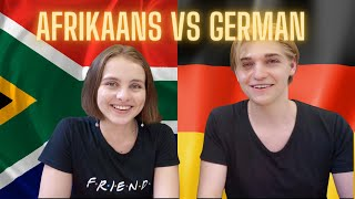 German Vs Afrikaans | Comparison With Gerrit