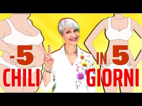 Perdere 10 peso corporeo in 6 settimane