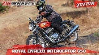 "Royal Enfield Interceptor 650   Most Affordable VFM ""Big"" Bike   India Ride Review   ZigWheels.com"