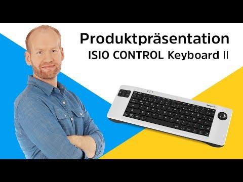 ISIO CONTROL Keyboard II   Die Funktastatur für Smart-TVs und Receiver.   TechniSat