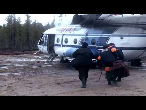 Эвакуация вахтовиков с Куноватского месторождения