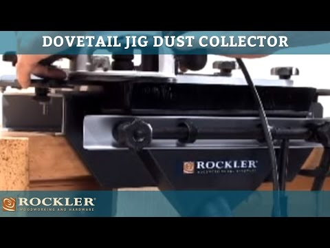 Rockler Dovetail Jig Dust Collector