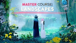 Illustration Master Course - Ep. 4: LANDSCAPES & ENVIRONMENTS