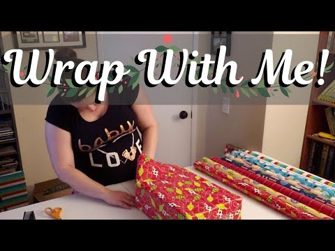 Wrap Your Christmas Presents With Me! || Present Wrapping Motivation