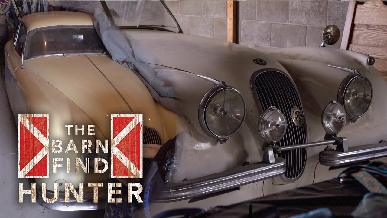 Barn Find Hunter uncovers a pair of Jaguar XKs hidden a quarter-mile apart