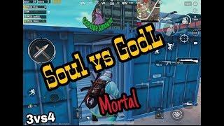 SOUL vs GODLIKE CLAN, KRONTEN GAMING VS MORTAL   PUBG MOBILE BATTLE   BEST FIGHT OF PUBG MOBILE