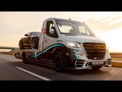 Autotransporter KEGGER Mercedes Sprinter Petronas Edition - 25th Anniversary Sprinter