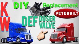 DEF Dosing Valve Replacement: Kenworth/Peterbilt