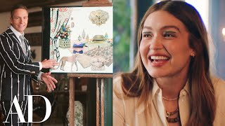 Gigi Hadid Designs A Bohemian Party Terrace With Ken Fulk | Architectural Digest