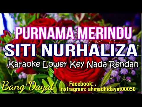 Purnama Merindu Siti Nurhaliza karaoke KN7000