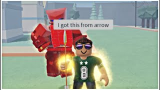 Getting An Unobtainable Stand From An Arrow Trolling [Stand Upright]