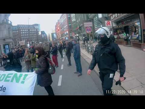 Schweigemarsch Hamburg teil 2