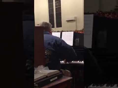 "Piano Improvisation on ""O Holy Night"". Click the play button."