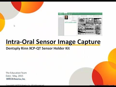 Intra-Oral Sensor Image Capture – Dentsply Rinn XCP-QT Sensor Holder Kit