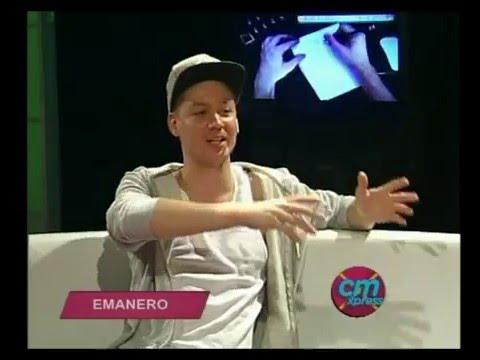 Emanero video Entrevista en Estudio  - Diciembre 2015