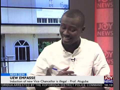 UEW Empasse - News Desk on JoyNews (17-9-18)