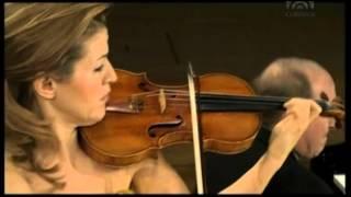 Mozart, Violinsonate B Dur KV 378   Anne Sophie Mutter Violine), Lambert Orkis (Klavier)