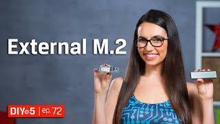 Install an Internal M.2 into an External Enclosure – DIY in 5 Ep 72