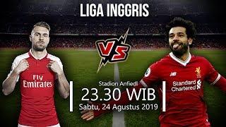 Sedang Berlangsung Live Streaming TVRI Liga Inggris Pekan Ketiga Liverpool Vs Arsenal