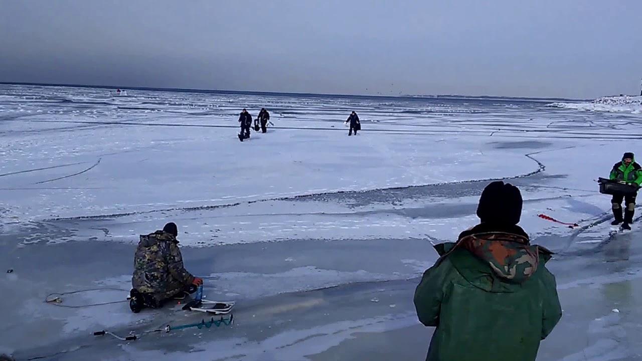 Экстремальная рыбалка в Финском заливе