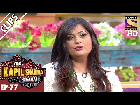 Richa Sharma the lioness singer in Kapil's Show – The Kapil Sharma Show - 28th Jan 2017
