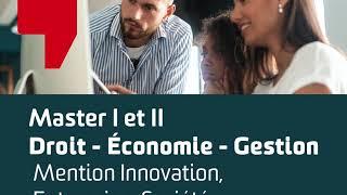 MASTER DEG Mention Innovation Entreprise, Société – AFTEC Orléans