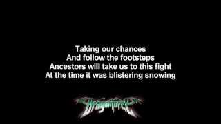 DragonForce - Lost Souls In Endless Time | Lyrics on screen | HD