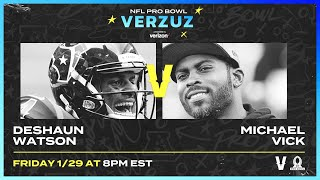 DeShaun Watson vs. Michael Vick in the Ultimate Highlight Competition! | NFL Pro Bowl Verzuz