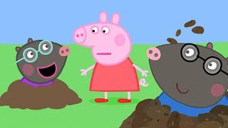 Peppa Pig Official Channel | Molly Mole is Digging at the Sandpit
