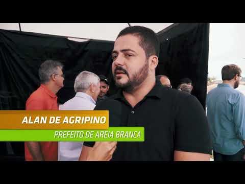 ANDRÉ MOURA E MINISTRO ENTREGAM TRECHO DA BR-101 André Moura