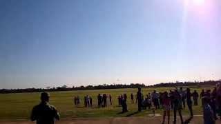 preview picture of video 'Pucará - Vuelo rasante - 102 Aniversario de la Fuerza Aérea, Sáenz Peña, Chaco'