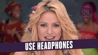 Shakira - Waka Waka (Lyrics)(This Time For Africa) (8D Audio🎧)