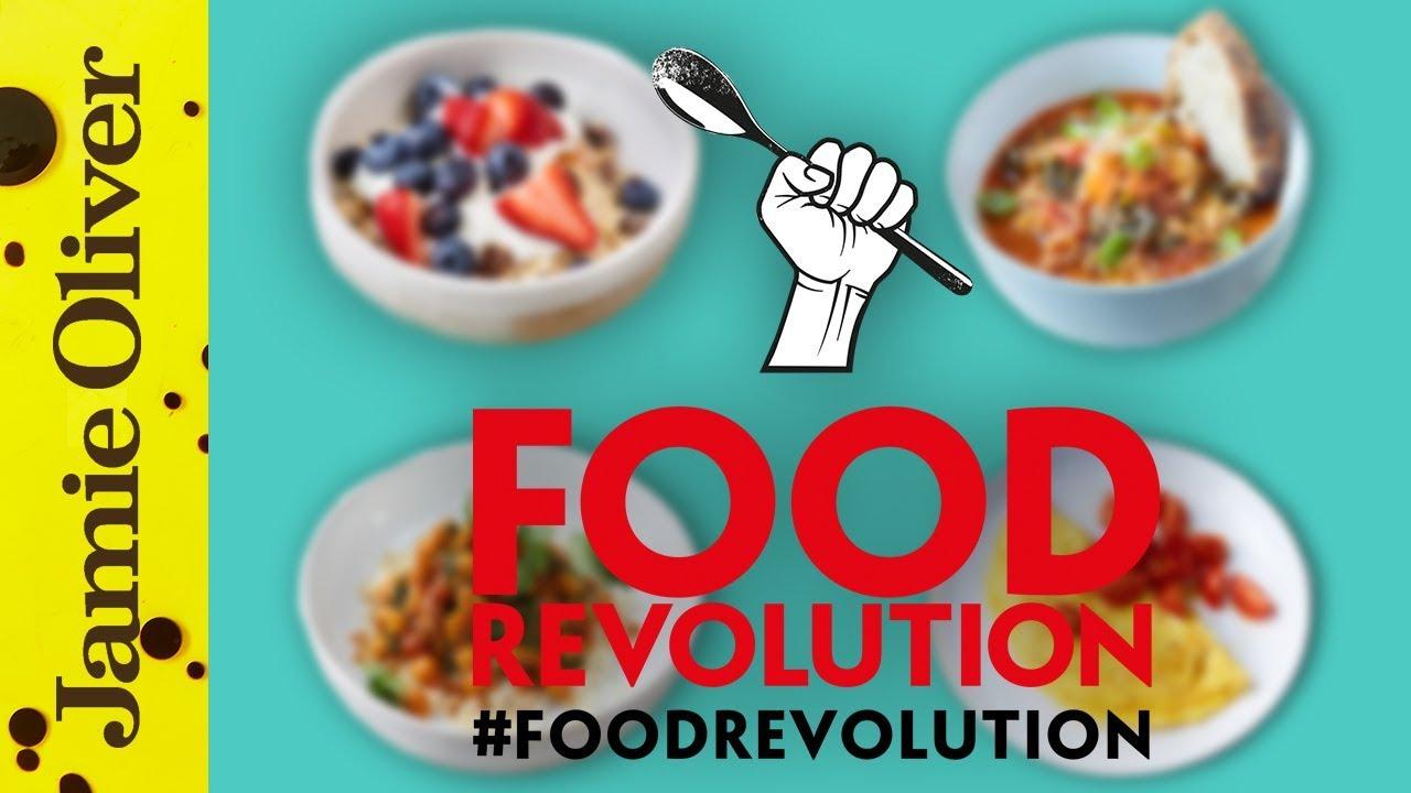 Jamie Oliver's 10 Food Revolution Recipes