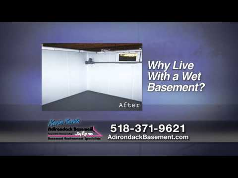 "Are you tired of having to suck water out of your basement? Would you like to transform it into dry usable storage space, or finish it for additional living space without the fear of flood damages? Adirondack has all the right solutions for you!As Albany and Troy experts in ""All Things Basementy!""™, we offer basement waterproofing, basement finishing, foundation repair services... and we fix nasty crawl spaces too!Inspections and estimates are always free, and the warranty is the best in business. Call us of visit our website to schedule your free quote!"