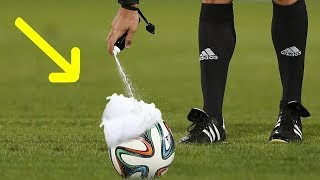 10 FUNNY MOMENTS WITH VANISHING SPRAY IN FOOTBALL