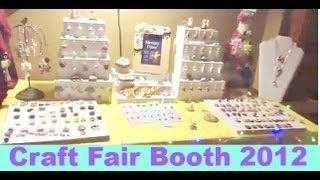 Craft Fair Booth (displays For Clay Charms!)