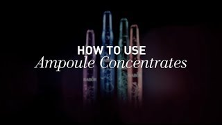 How to Use Babor Ampoule Concentrates