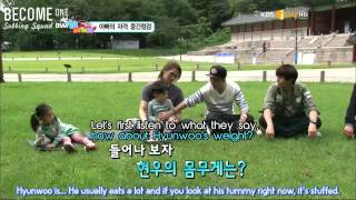 [B1SS] 120914 Hello Baby Season 6 with B1A4 - Episode 8 (1/4)