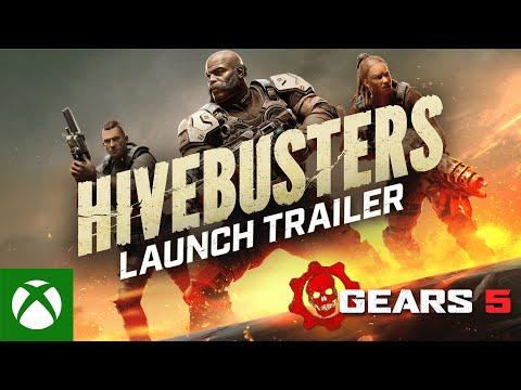 Trailer de lancement pour l'extension Hivebusters de Gears 5
