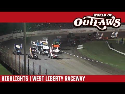 World of Outlaws Craftsman Sprint Cars West Liberty Raceway June 23, 2017   HIGHLIGHTS