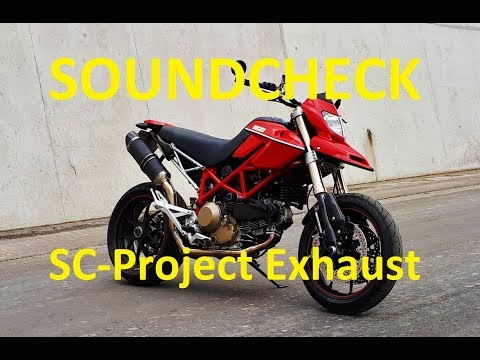 Ducati Hypermotard 1100s with SC-Project exhaust - Soundcheck
