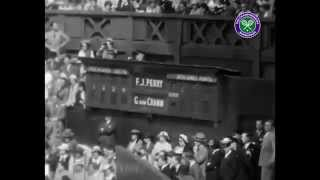 preview picture of video '80 days to go...Fred Perry wins Wimbledon 80 years ago'