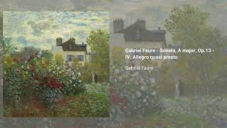 Violin Sonata no. 1, Op. 13