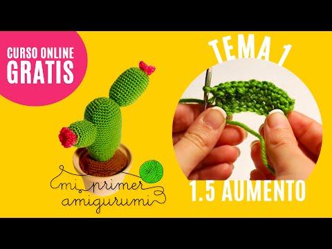 Ganchillo paso a paso   Patrón Cactus GRATIS   2.2: Brazos ...