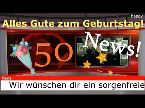 Geburtstagsvideo lustig zum 50. Geburtstag Geburtstagsgrüße Video Geburtstagslieder von Thomas Koppe