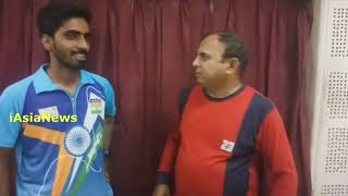 Exclusive interview with Satyan Gnanashekharan,Table Tennis player from India.
