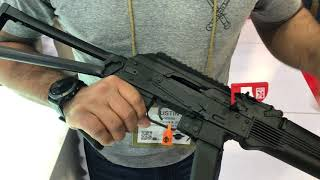 Kalashnikov USA new 9mm AK Shot Show 3018