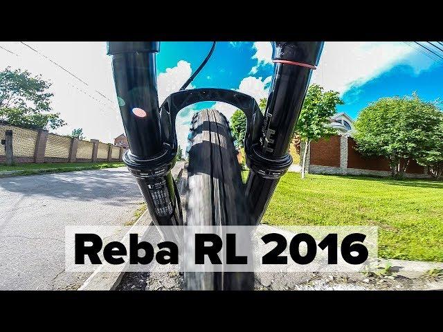 "Видео Вилка RockShox Reba RL 29"", Boost 15x110, 100mm, DebonAir+Shifter черная"