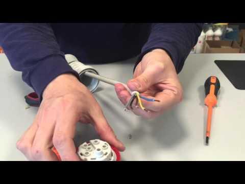 Come si monta una spina Industriale a 220 o a 380V? Pillola N.37 di Materiale elettrico
