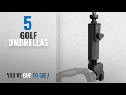 Top 10 Golf Umbrellas [2018]: Masters Golf - Trolley / Cart Umbrella Holder Attachment - TRA0016